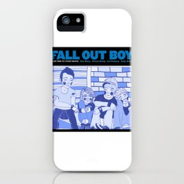 Take This To Your Grave. iPhone Case