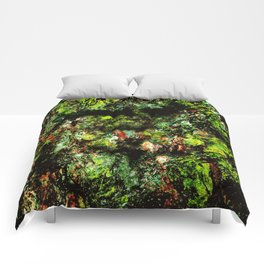 Old Tree Face Comforters