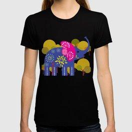 Decorated elephant T-shirt