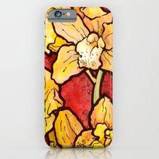 Yellow Lillies Slim Case iPhone 6s