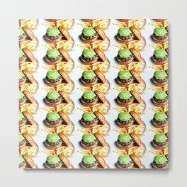 avocado burger Metal Print