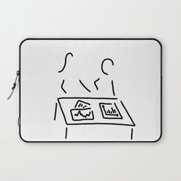meeting analyst banker manager Laptop Sleeve