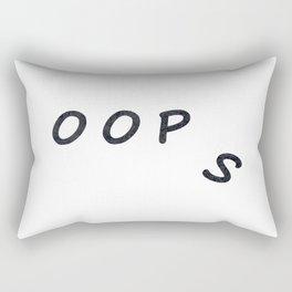 Oop   s Rectangular Pillow