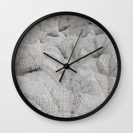 Pixel Snow Wall Clock