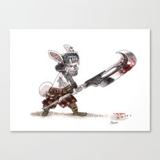 Lapin Barbare Canvas Print