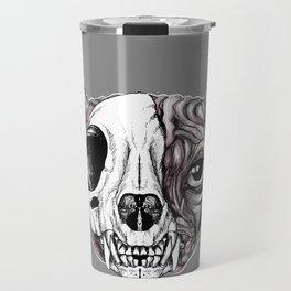 Shynx Half Skull Travel Mug