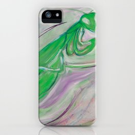 Manny The Praying Mantis iPhone Case
