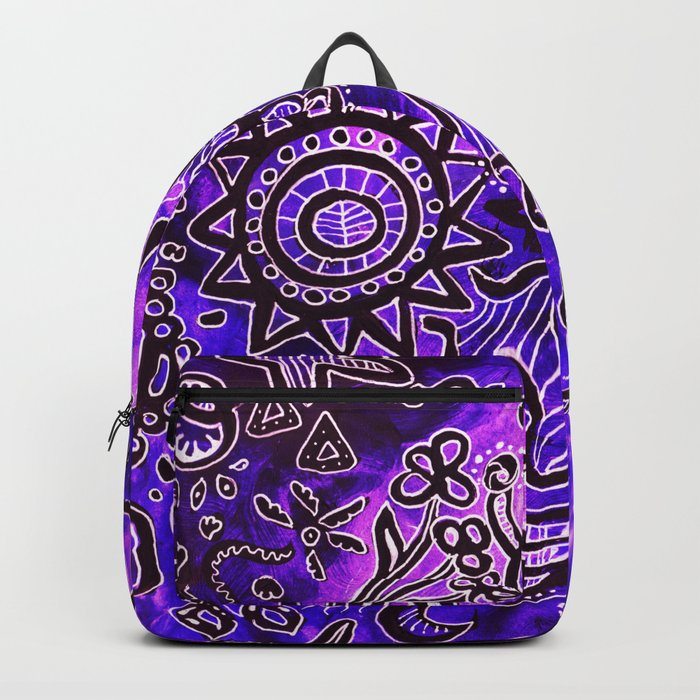 Zentangle Backpack