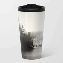 Black & White Lake Travel Mug