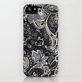 Floral Batik iPhone Case