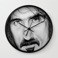 zappa Wall Clocks featuring ZAPPA by Rob Delves