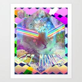 .:$:.GET MONEY.:$:. Art Print