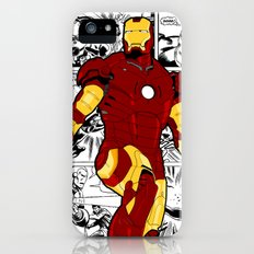 Iron Man Comic Slim Case iPhone (5, 5s)