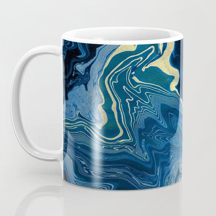 Lapislazuli and Gold #Society6 #decor #buyart Coffee Mug