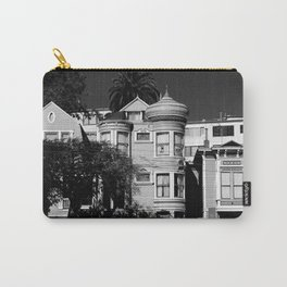 Kind Of Three Of A Kind - B&W Carry-All Pouch