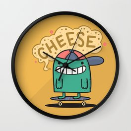 Cheese Guy Wall Clock