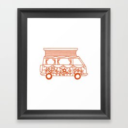 Rosie Campervan Framed Art Print