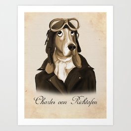 Charles von Richtofen Art Print