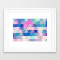 diamonds Framed Art Prints featuring diamonds by Sylvia Cook Photography