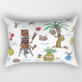 Cocktail Cannibalism Rectangular Pillow