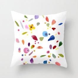 Paper Garden  Throw Pillow