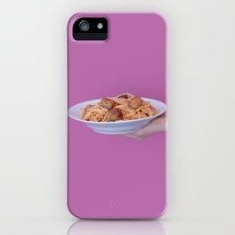 Spaghetti iPhone Case