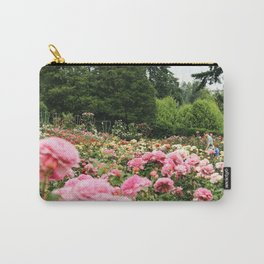 Family at International Rose Test Garden Carry-All Pouch