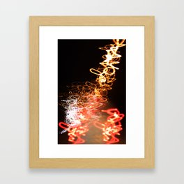 Schizocolour (iPhone cover) Framed Art Print