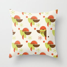 Brid Century Modern - Bird VI Throw Pillow
