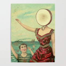 Neutral Milk Hotel – In the Aeroplane Over the Sea Poster