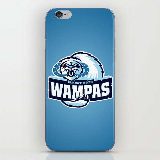 Planet Hoth Wampas - Blue iPhone & iPod Skin