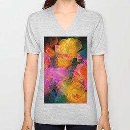 Rose 224 Unisex V-Neck