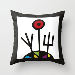 serge-pichii-abstract-00568 Throw Pillow
