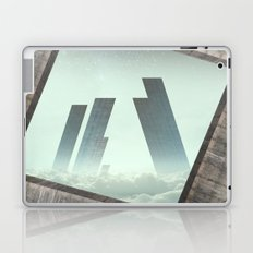 City the clouds Laptop & iPad Skin