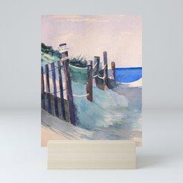 Wingaersheek Beach Path Mini Art Print