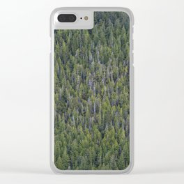 Woods Clear iPhone Case