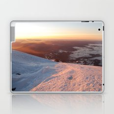 Sunrise above the earth - 14,411 feet Mt. Rainier Laptop & iPad Skin