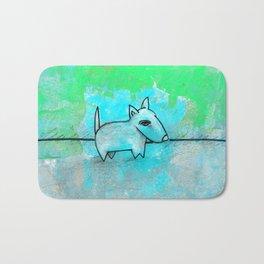 Dog No.1m by Kathy Morton Stanion Bath Mat