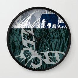 wild mama Wall Clock