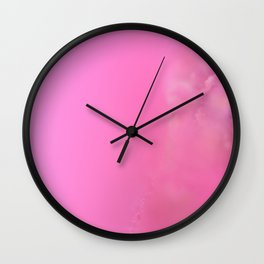 Japanese inspiration - Malva Alcea Wall Clock
