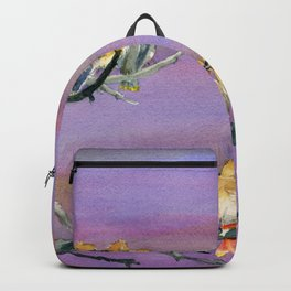 Bohemian Waxwings Birds Backpack