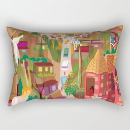 Playboys and Geishas in Old Los Angeles Rectangular Pillow
