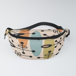 Mid Century Modern Radioactive Surfer 334 Fanny Pack