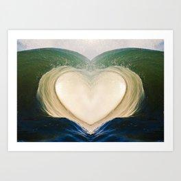 Aloha Barrel 9/6/15 Art Print