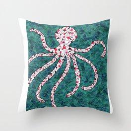 Dream of Octopus Throw Pillow