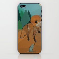The lazy fox jumps over the lazy rat iPhone & iPod Skin