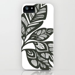 Let Love Grow - Outline iPhone Case