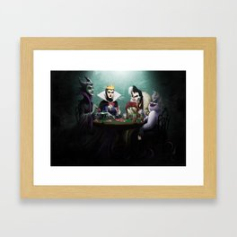 Evil Flush Framed Art Print