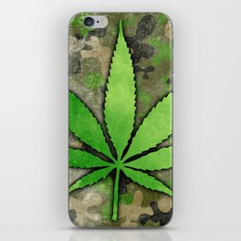 Weed Leaf iPhone Skin