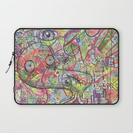 Basura Cerebro Laptop Sleeve